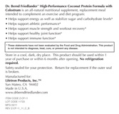 High-Performance Coconut Collagen Protein with Colostrum